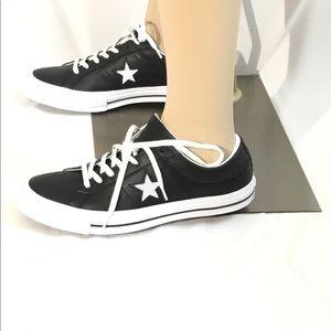 Converse One Star OX Black/White/White. Brand New